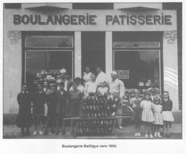 Art 1396 : En 1950, la boulangerie B....