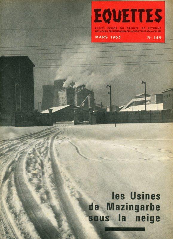 Art 1407 : Il neige sur Mazingarbe