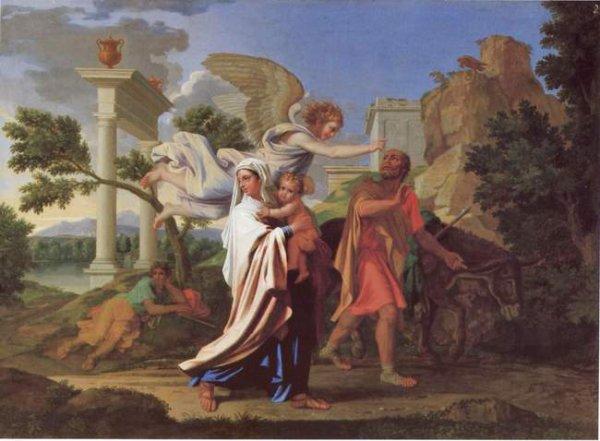 Art 1416 : La Sainte Famille : la fuite en Egypte