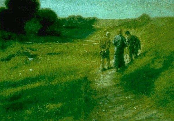 Art 1479 : Les pèlerins d'Emmaüs