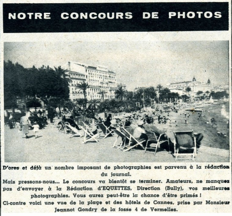 Art 1593 : Concours de photos en 1951