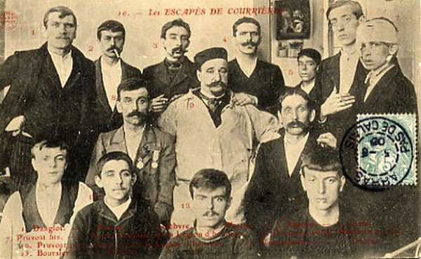 Art 1616 : Catastrophe de Courrières: 10 mars 1906