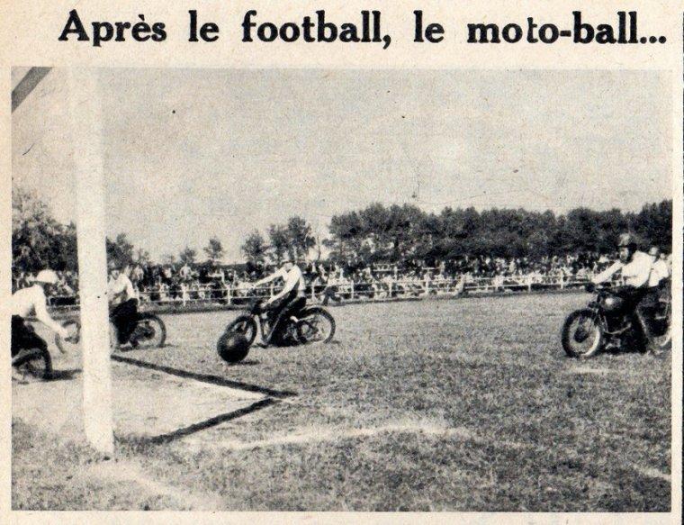 Art 1636 : Moto-ball en 1951