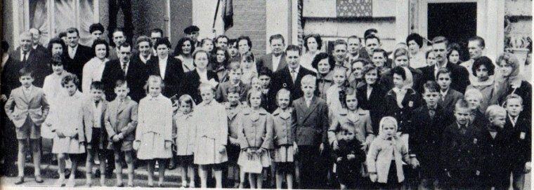 Art 1658 : Fête des Mères en 1962 à Mazingarbe