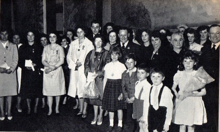 Art 1661 : Fête des mères le 26 mai 1963 à Bully