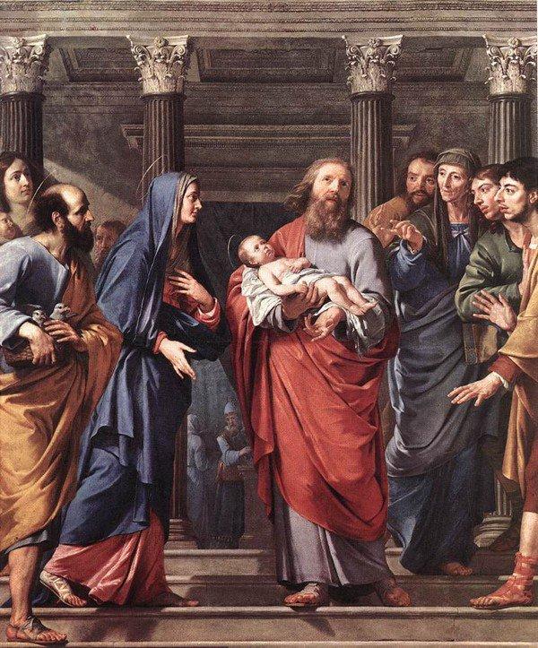 Art 1775 : Présentation du Seigneur au Temple, fête
