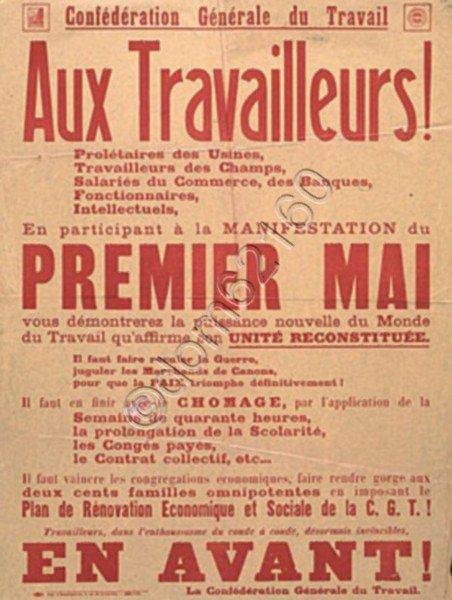 Art 1795 : Le 1er mai :  La Fête du Travail