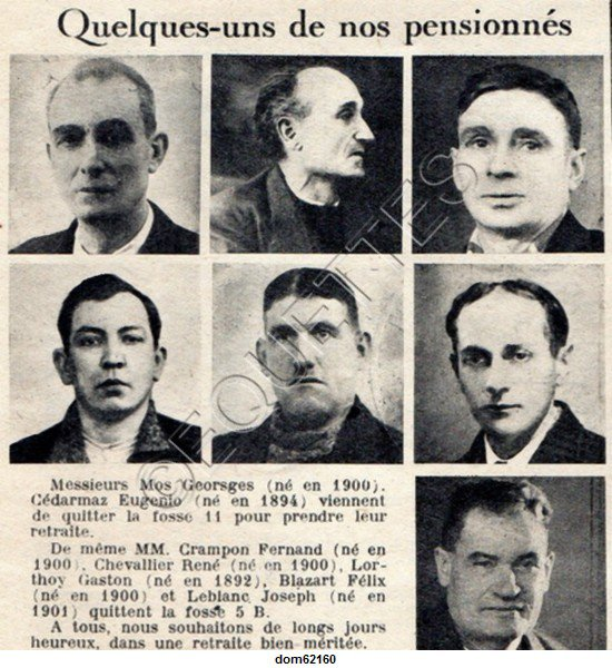 Art 1801 : Juin 1951 : Quelques pensionnés....