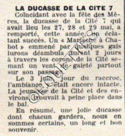 Art 1807 : La ducasse en mai 1951