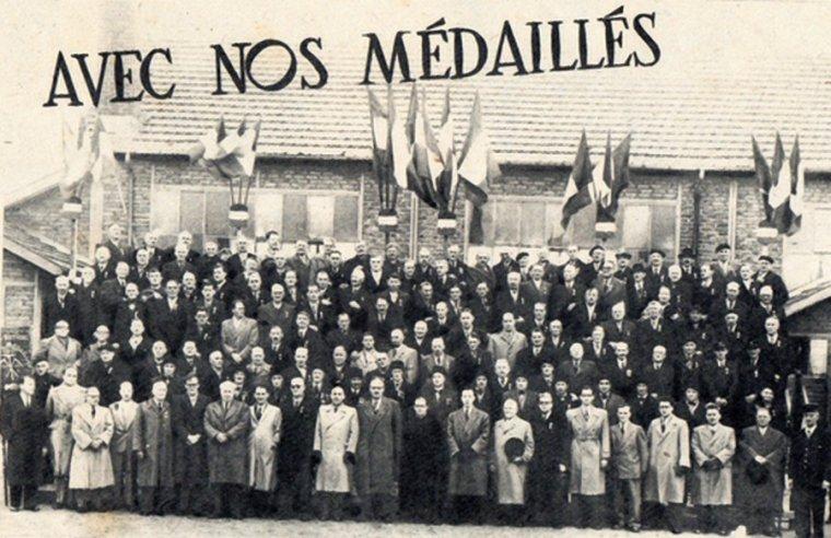 Art 1821: Nos médaillés du 21 octobre 1951