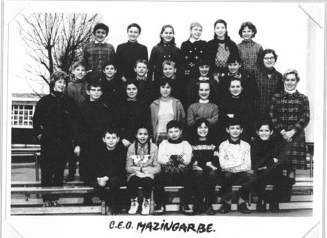 Art 7 : Classe de 5ème : 1967-1968