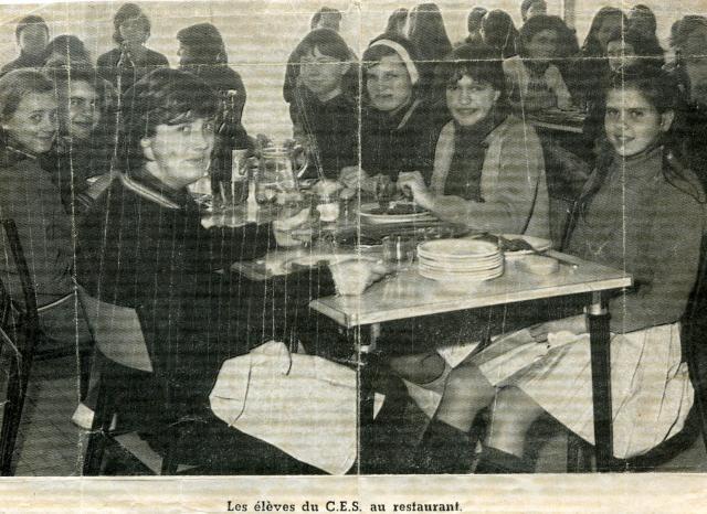 Art 15 : Ouverture du restaurant ( 1970 )
