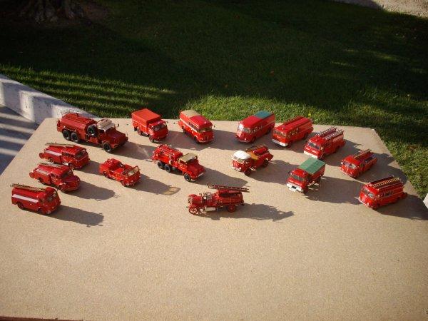 hommage a tous les pompiers
