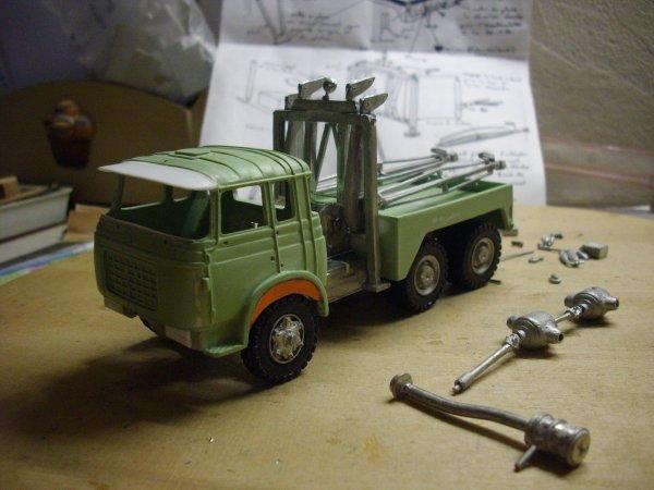 BERLIET TR 250 6X4 dépanneuse   suite