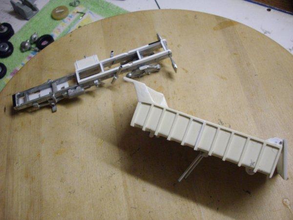 Berliet GBO15 6X4 benne