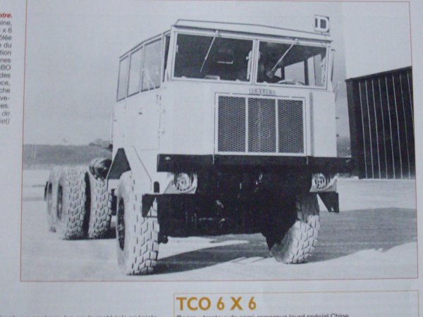 BERLIET TCO 6X6 Chine