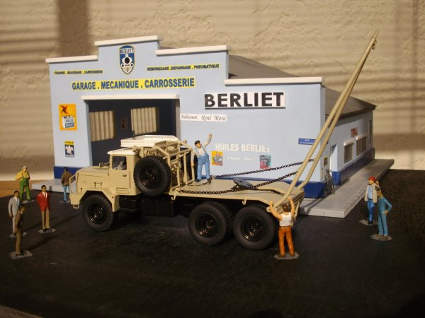 BERLIET GBO 15P 6X6