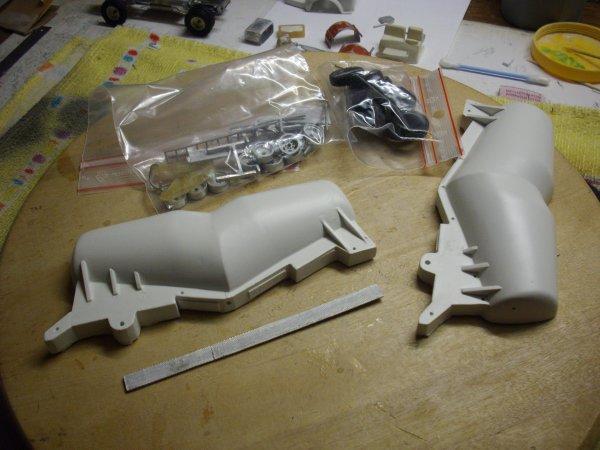 préparation kits BERLIET TLM10 M2 et semi pulvé Filliat