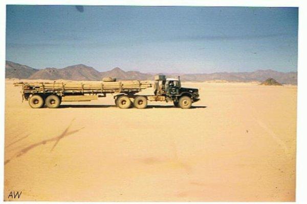 création d'une semi plateau saharienne