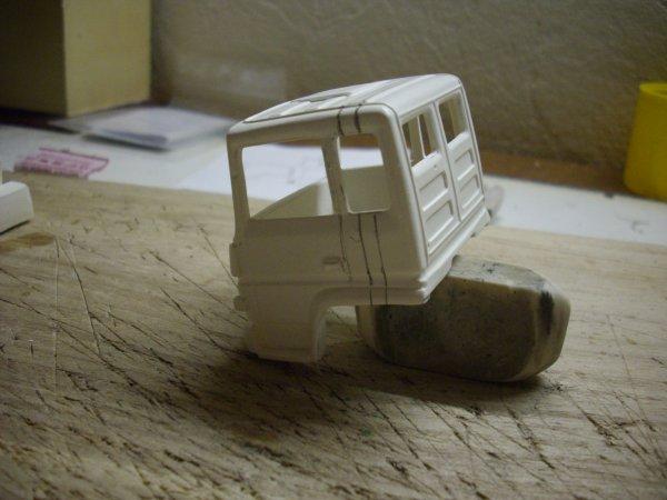 BERLIET TRH 350  cabine courte