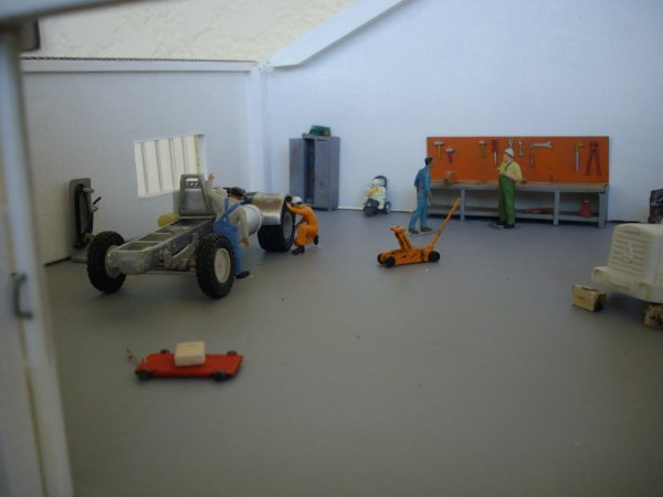 activité au garage