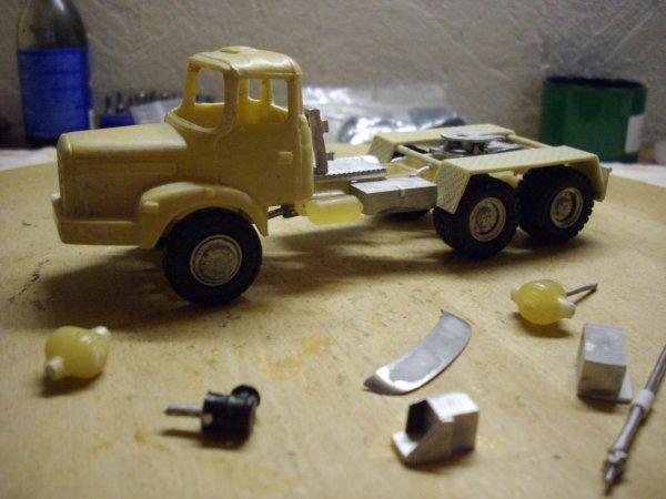 Tracteur berliet TBH 280 6X4