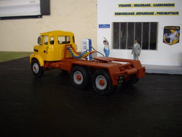 berliet TRH 280 et semi toupie
