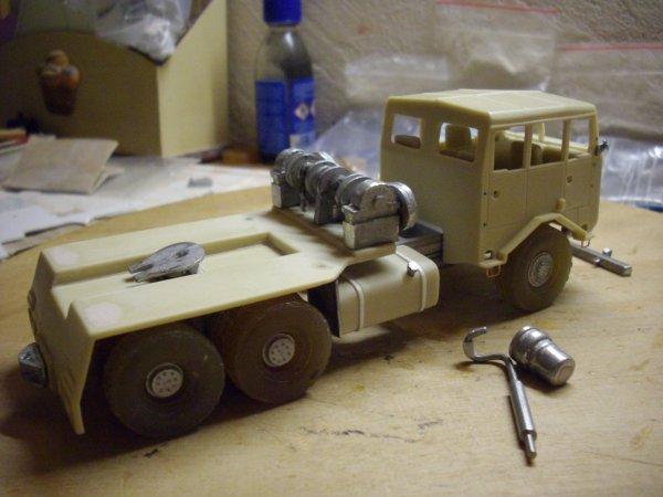 montage kit berliet TPO 15 6X6