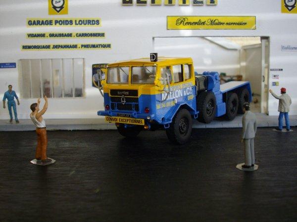 berliet TPO 15 6X6 tracteur de convois