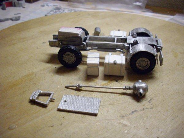 montage d'un TR 350