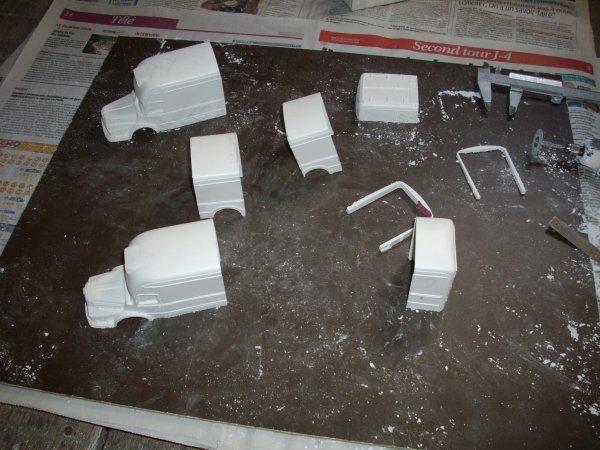 construction d'un berliet GBM 15 6X4