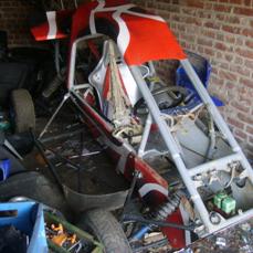 1 ami vend 1 kart cross a moteur 2cv