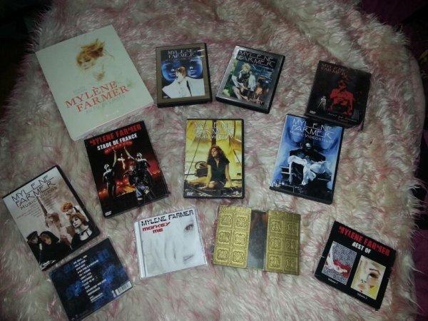 Tout mais dvd cd et livre Mylene