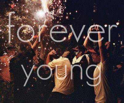 We are young. Enjoy !