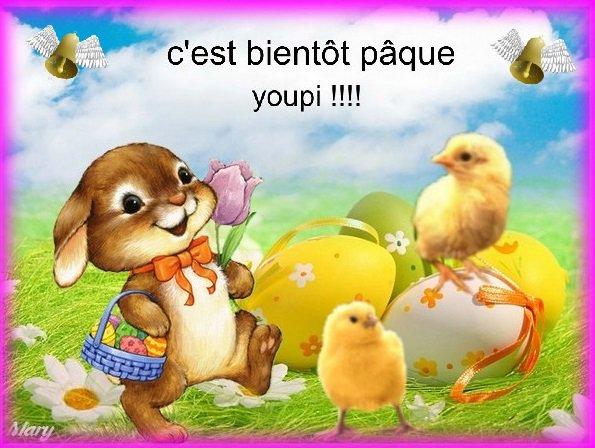 Bientôt Paque!!!