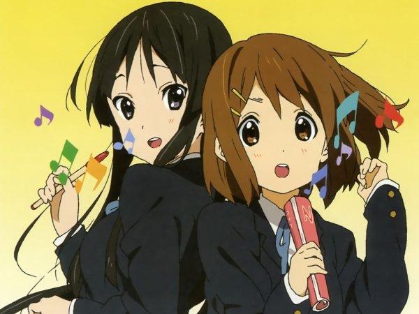 Yui et Mio nos mascottes!!! <3