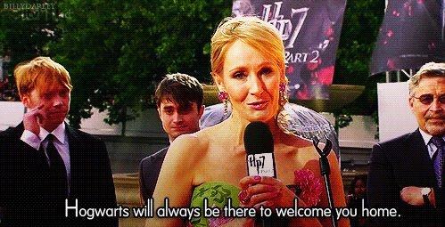 Merci pour tout Joanne Kathleen Rowling !