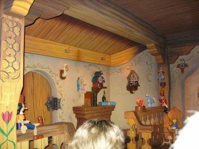 Disneyland Park 6 janvier 2012 : Fantasyland - Les voyages de Pinocchio