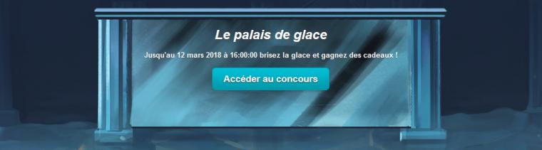 Nouveau concours : Le Palais des Glaces