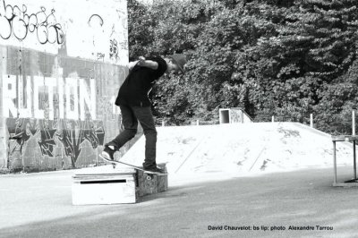 Pti David Backside Lipslide