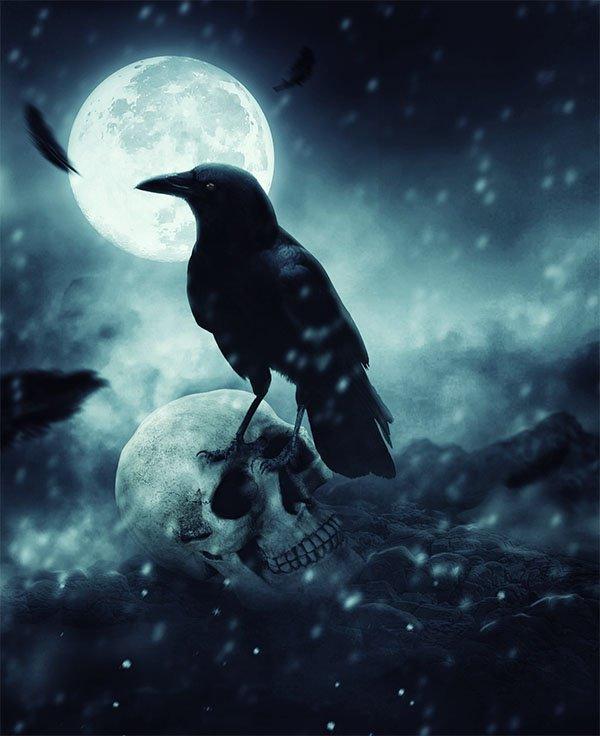 Quand la Lune est noire