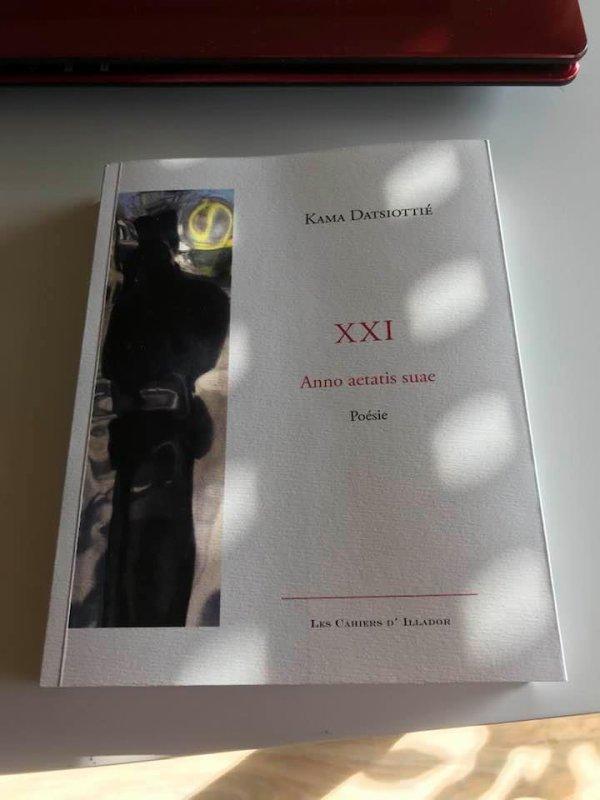 Mon recueil de poèmes XXI aux éditions illador