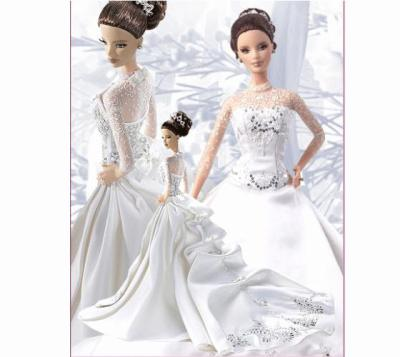 barbie robe de marie