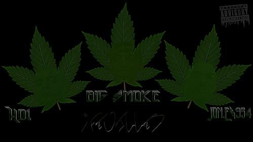 """3 Feuilles"" EP 5 Titres de la 9 CONNEXION ( HDImc & JonEs ) & Big Smoke Disponible sur Upstarzz."