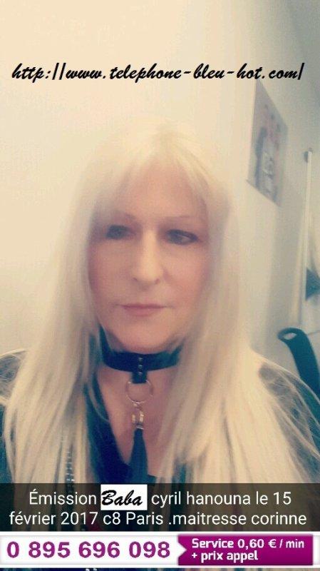 Maitresse Corinne Dans L'émission BaBa de Cyril Hanouna Dans L'émission BaBa de Cyril Hanouna C8.Le 20 février 2017 à 18h45 deuxième partie.