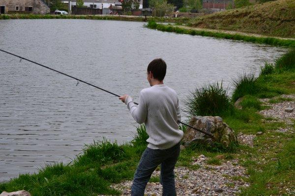 Petit journée pêche.
