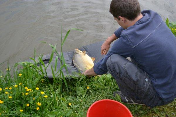 Petite partie de pêche de ce dimanche 19 mai.