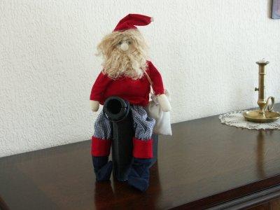 Et voilà le Père Noël avant mes nombreuses réalisations de fêtes