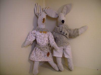 Couple de lapinots