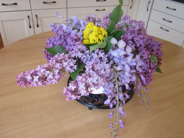 Mon bouquet de la semaine, fleurs de mon jardin